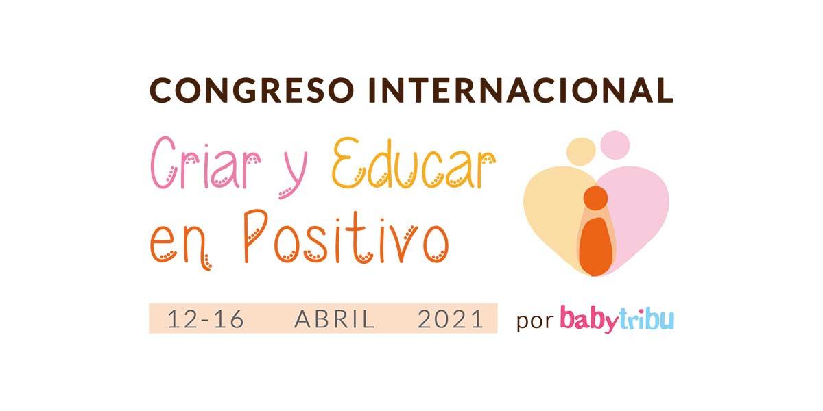 Logo congreso criar y educar en positivo